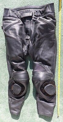 Mens Triumph The Triple Connection leather motorcycle trousers 38 / 48 (large)