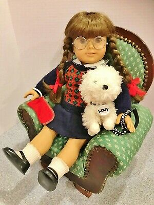 "RARE 1986 American Girl Retired Molly McIntire Pleasant Co Baby Doll 18"" ORIG."