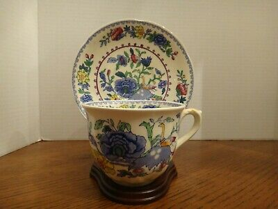 Vintage Masons Ironstone 'Regency' Cup & Saucer Numbered