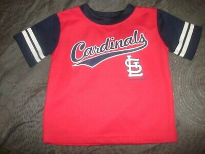MLB St. Louis Cardinals Jersey 18M red baseball (B12)