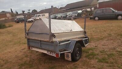 TRAILER WITH STORAGE - CHEAP - 6m x 4m - REGISTERED