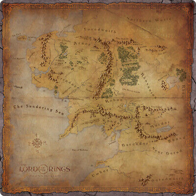 The Lord of The Rings Journeys in Middle-Earth Gamemat NEW