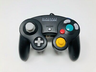 Nintendo Genuine OEM Gamecube Controller Jet Black Official FAST Free Shipping!!