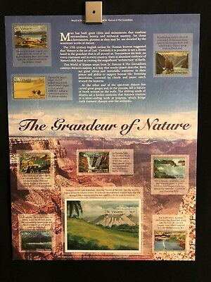 World Of Stamps Grandeur Of Nature Series Collection 9 Stamps St Vincent