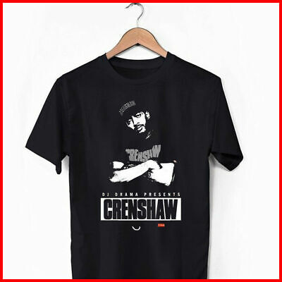 NIPSEY-HUSSLE-CRENSHAW-Shirt-Black-Cotton T-shirt ft55