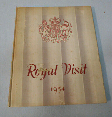 #Tt.    1954  Royal  Visit  Queen Elizabeth Ii  Book
