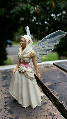 Lot 41 of 50.Bayala? Bridal? elf fairy clear wings white hair SCHLEICH  RETIRED?