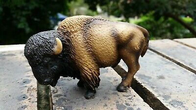 Lot 42 of 50. SCHLEICH  American male bison? RETIRED? (played with condition)