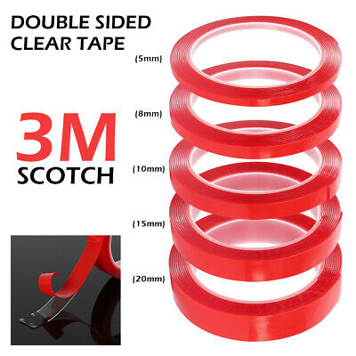 3M RED Double Sided Super Sticky Transparent Adhesive Tape For Cell Phone Repair
