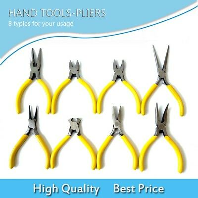 NEW 8 Typies Electrical Wire Cable Cutter Cutting Plier Side Snips Flush Pliers/