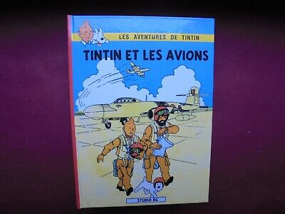 Herge Hommage Tintin Et Les Avions  Comme Neuf