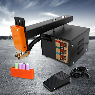3kw precision pulse battery spot welder led light welding machine for 18650