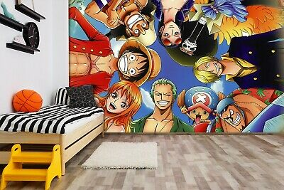 3D ONE PIECE Classic 227 Japan Anime Game Wallpaper Mural Poster Cartoon Cosplay