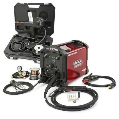 Lincoln Electric POWER MIG 210 MP Multi-Process Welder Aluminum One-Pak K4195-1