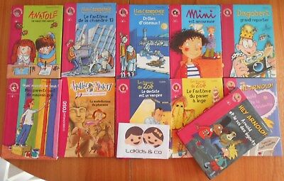 100 La Bibliotheque Rose Lot De 11 Livres Divers Serie 8
