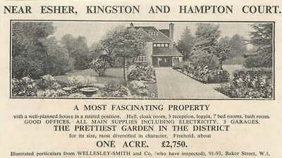 1936 Fascinating Property 7 Bedrooms 1 Acre Near Esher, £2750