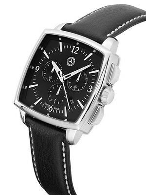 Original Mercedes Benz Men's Arm Band Watch Classic Calf Leather by Swiss Made