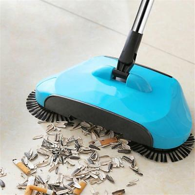 360° Rotating Hand Push Sweeping Broom Room Floor Dust Sweeper Cleaner Mops Home