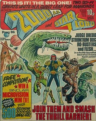 2000 AD Comic Prog/Issue Number 86 [Starlord Merger, First 'Strontium Dog']