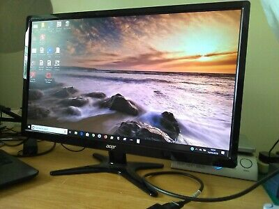 "Acer 24"" Full Hd Led Computer Monitor G246Hl Pre-Owned But In Vgc"