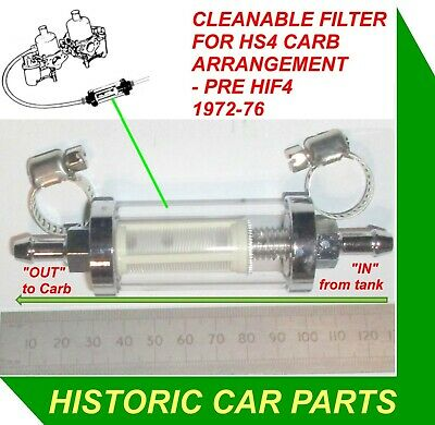 """1½"""" SU HS4 Carb FRONT JET /& STD /""""MB/"""" NEEDLE MGB Roadster 1962-63"""