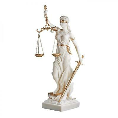 Design Toscano Themis Blind Lady of Justice Statue Lawyer Gift, 33 cm,...