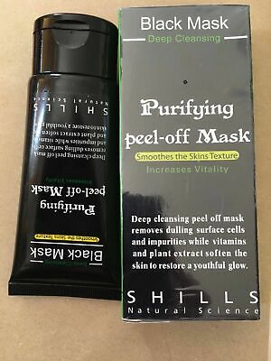 Deep Cleansing Peel-Off Black Face Mask Blackhead Remover 50ml