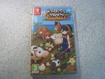 Nintendo SWITCH:HARVEST MOON:LIGHT OF HOPE SPECIAL EDITION. EMPTY BOX ONLY.PAL.