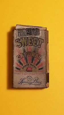 1915 Caporal Sweet 10 Cigarette Pack Which Contained One Card Could Been Hockey