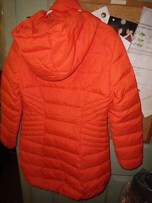 Kids Girls Jacket l Parka Coat Padded Hooded Quilted Thick Warm Bubble Age 7- 13