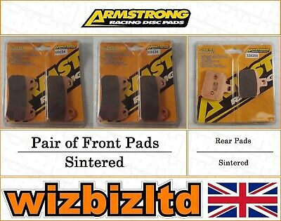 Armstrong Complete Brake Pad Kit Voxan Black Magic 2004-08 BK113123
