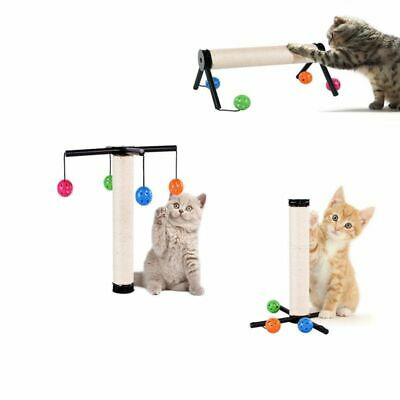 Cat Post Pet Tree Sisal House Scratching Tower Play Kitty Scratch New Furniture