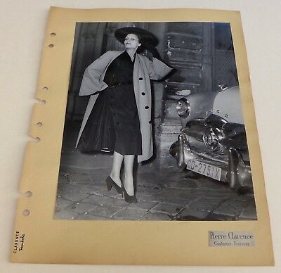 Photo Mode - Ford - Pierre Clarence - Tirage argentique 1950's -