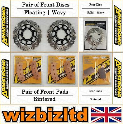 Armstrong Complete Brake Kit Suzuki GSXR 600 (Brembo Calipers) 2011-15 BK127349