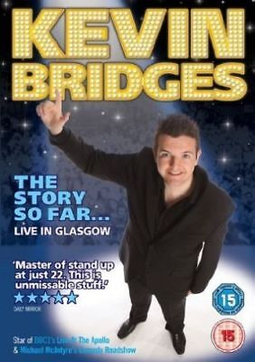 Kevin Bridges: The Story So Far - Live in Glasgow DVD, New & Factory Sealed.
