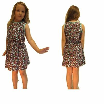 NEW 12 x Girls Sleeveless Dress Clothes Job Lot Trader Age 1 to 10 Wholesale