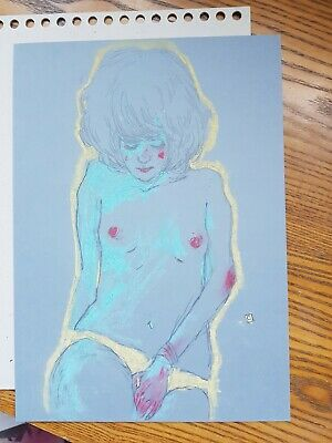 Conrad Roset original drawing