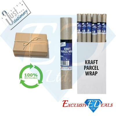 Brown Kraft Parcel Paper for Packing and Wrapping Parcels - STRONG 4M x 70cm