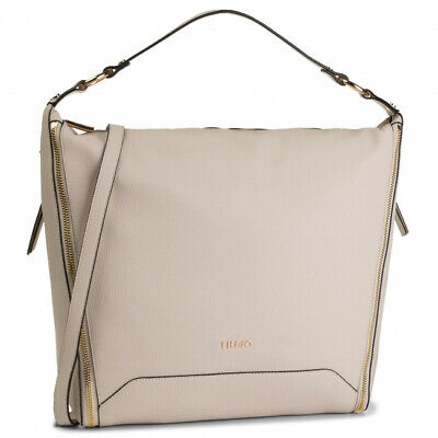BORSA LIU JO Narciso A17141 Shopping Bag Revers Beige Rosa