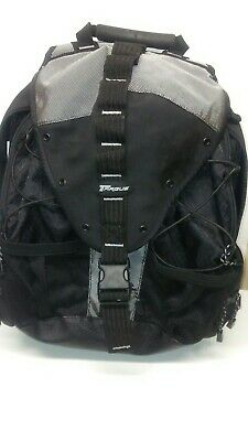 9333288a6 Targus 16 Sport Deluxe Backpack - TSB312 super clean black multiple pockets