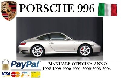 Manuale Officina In Italiano Porsche 996 1998 1999 2000 2001 2002 2003 2004 3.4L