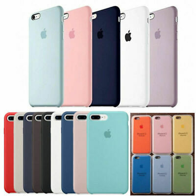 Original Silicone Cover Phone Case For iphone XS MAX XR  6s 7 8 plus SE