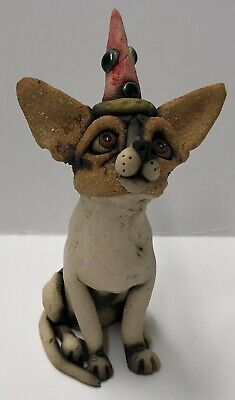 Original One Of A Kind Ceramic Party Animals by Jennifer Rudkin