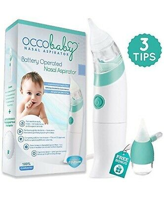 OCCObaby Nasal Aspirator Battery Operated Limited Edition