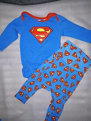H&m Set 56 Superman Superheld Blau Süß Junge boy