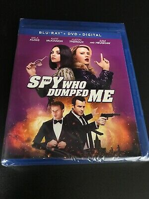 "THE SPY WHO DUMPED ME BLU RAY + DVD  W/SLIPCOVER ""LIKE NEW"" NO digital"