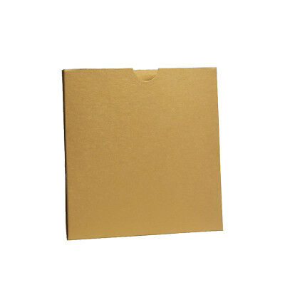 Gold Pearlescent Pocket fold Wallets with Envelopes. DIY Wedding Invitations