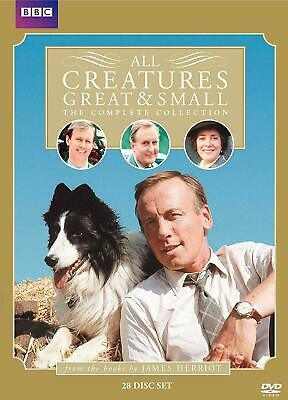 .All creatures great and small:The complete collection (DVD,2010,28-Disc Set)New
