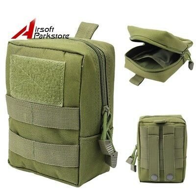 Hunting Tactical Molle Magazine Mag Dump Drop Pouch Utility Waist Bag Olive Drab