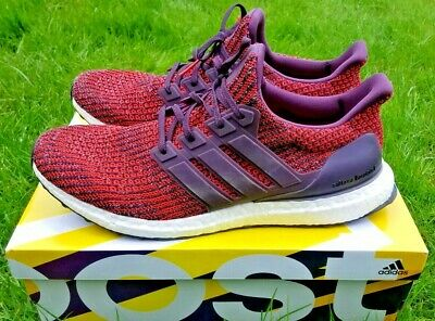 657f28d17bf4b Adidas UltraBoost 4.0 Men s size 13 Noble Red Maroon Ultra Boost CP9248